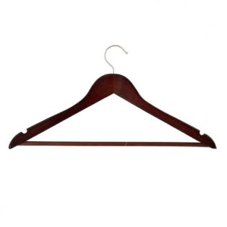 Вешалка для одежды 45см цвет Венге