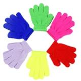 Перчатки Basic, 95% акрил, 5% спандекс, размер S, 12см, 6 цветов