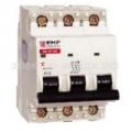 Выключатель автоматический ВА 47-63, 3Р 25А (С) 4,5kA EKF Proxima