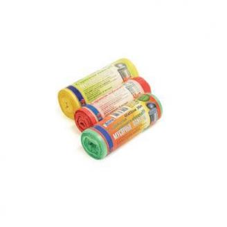 Мешки д/мусора ПНД 50см*60см в рулонах 30л зап. лимона 50шт./40