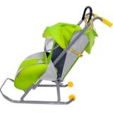 Санки-коляска Nika Ника детям 1 зеленый