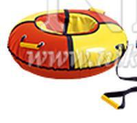 Тюбинг Nika ТБ1К 850 красный с желтым