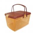 Корзина для пикника М1539 светло-коричневый