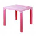 Стол детский розовый