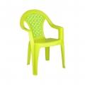 Кресло детское Плетёнка салатовый