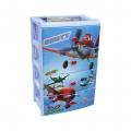 Комод детский Самолёты-Дисней для мальчиков 4-х секционный М2221