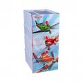 Комод детский Самолет-Дисней 4-х секционный М3334