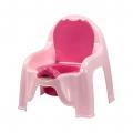 Горшок-стульчик детский (розовый)