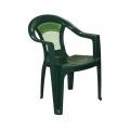Кресло Малахит темно-зеленый