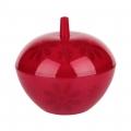Сахарница Соблазн с крышкой (красный)