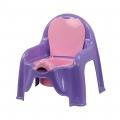 Горшок-стульчик детский светло-фиолетовый