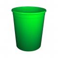 Бак универсальный без крышки 225л зелёный