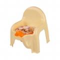 Горшок-стульчик детский Мишки