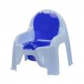 Горшок-стульчик детский (голубой)