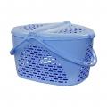 Корзина для пикника М1350 голубой
