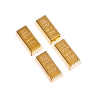 Набор магнитов Олигарх - 4 шт, 3x1,4x1см, пластик