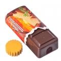 Точилка для карандашей Шоколадка 8 см, блистер