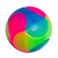 Мяч световой Пазл резина цветной d5,5см