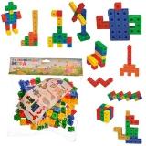 Игра развивающая Разноцветные кубики 3+ 6101 пластик АВС