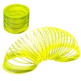 Пружинка-радуга Металлик 6х7см пластик микс