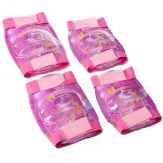 Набор защиты (локти, колени), пластик, ПВХ