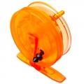 Катушка инерционная для зимней рыбалки, пластик, противоударная