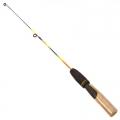 AZOR Удочка для зимней рыбалки 50см, файберглас, ручка из пробки