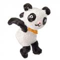 Декор для цветочного горшка в виде панды, полистоун, 7,9x4,3x7,5см