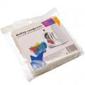 Набор салфеток для стирки против окрашивания 20шт 25х12см