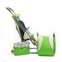 Санки-коляска Ника детям 4 зеленый