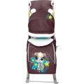 Санки-коляска Ника-Детям-6 Бельчонок шоколад