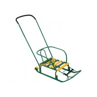Санки Тимка 3+ зеленый