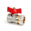 Вентиль шар.TM для мет.пл.тр. 3/4х20 м/ц