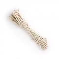Веревка витая узбекская (бельевая х/б) D=4мм, длина 10м /арт.85100