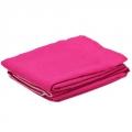 Комплект штор 2шт Лен 1,4х2,5м розовый