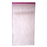 Занавеска нитяная 1x2м с блестками розовая