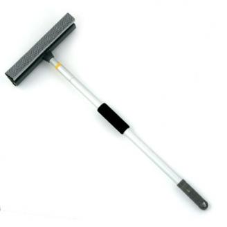 Окномойка с телескопической ручкой 111см серая