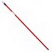 Палка для щётки 120см окрашенная сталь, красная