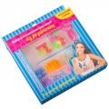 Набор для плетения браслетов, пластик, 15х14х2см, арт.2236