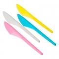 Набор ножей 24шт, пластик, 16см, 4 цвета