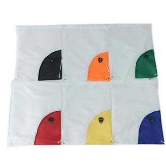 Мешок-рюкзак для обуви, вещей Спорт 34х42,5см, полиэстер, 5 цветов