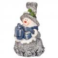 Сувенир 6х8см, полистоун, в виде Снеговика, KS135A-013049H1A