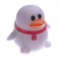 "Светильник-ночник ""Пингвин"" белый, пластик, 1LED(многоцвет) 6,5х6,5х5,5см"