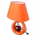 Лампа настольная керамика полиэстер металл пластик 38х28х18см 220В 25-100Вт E14 22-02