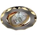 Светильник Эра KL12A SN/G 12V/220V 50W звезда сатин/никель/золото