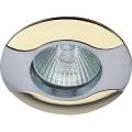 Светильник Эра KL18 SN/G 12V/220V 50W MR16 волна сатин/никель/золото