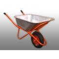 Тележка садовая 1колесо 65л 160кг Мастер оранжевая