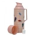 Термос 21022/8A стеклянная колба 2,0л розовый