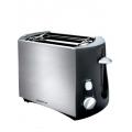 Тостер PET 0804A матовый/черный 800W (POLARIS)
