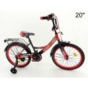 Велосипед MAXXPRO черный/красный Z20204